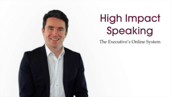 Simon Bucknall, High Impact Speaking Expert